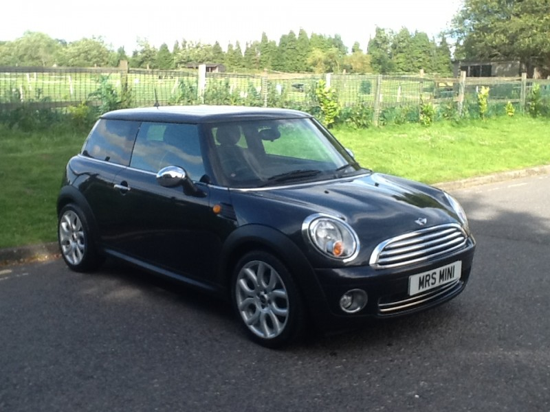 Mini Cooper Owners Lounge >> 2008 / 58 MINI COOPER IN BLACK WITH FULL LOUNGE LEATHER - Mrs MINI - Used MINI Cars for Sale