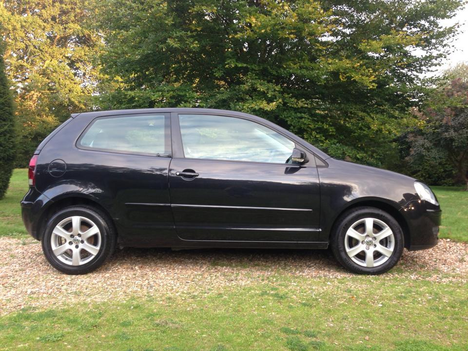 2008 volkswagen polo 1 2 match 60 3dr in black with 39k miles call kirsty on 07545 333943 mrs. Black Bedroom Furniture Sets. Home Design Ideas