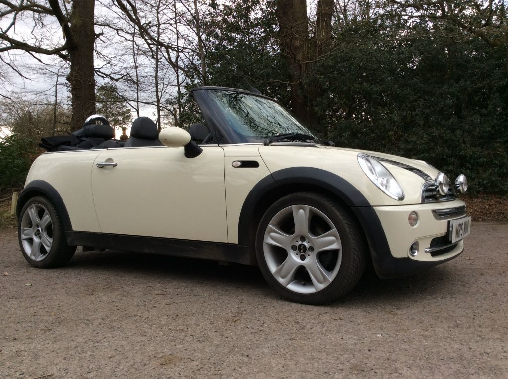 Gwen is off to France in this 2008 MINI Cooper Convertible ...