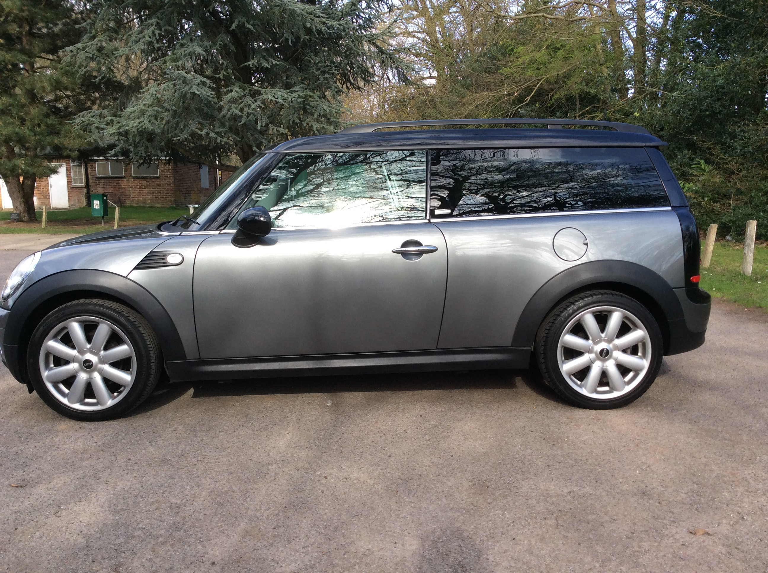 2010 mini cooper graphite clubman diesel high spec low. Black Bedroom Furniture Sets. Home Design Ideas