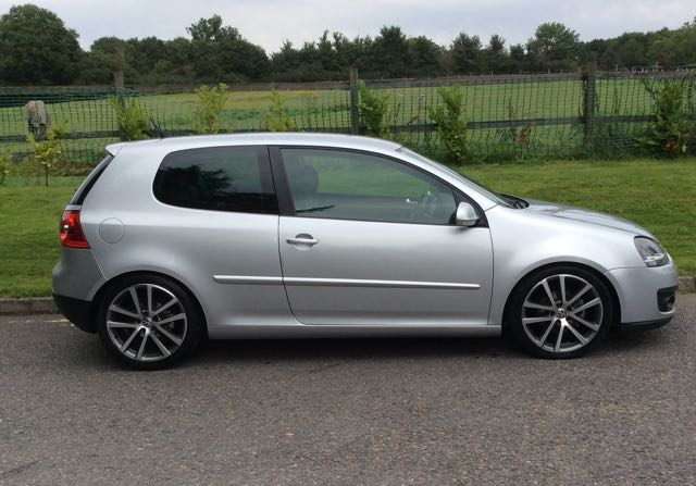 2009 58 Vw Golf Gt Sport Tdi 140 In Silver Mrs Mini