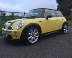 2004 MINI Cooper S Chili Pack in Liquid Yellow – Supercharged!