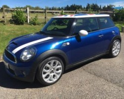 Deposit taken on this 2009 MINI Cooper S with Chili Pack & Union Jack Roof – Introducing SHELDON
