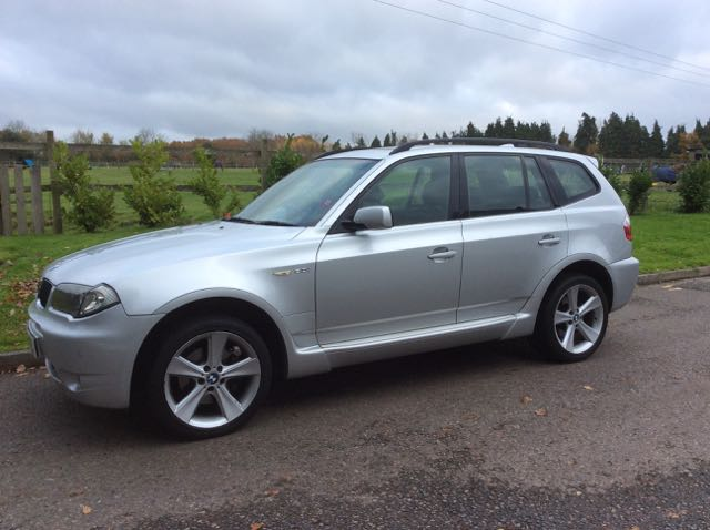 2004 BMW X3 3.0i AUTOMATIC Sport In Silver with Heated Leather Seats ...