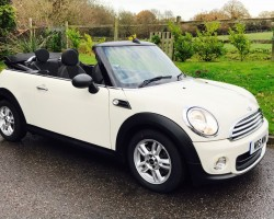 2012 MINI One Convertible Pepper Pack In Pepper White 29K Miles