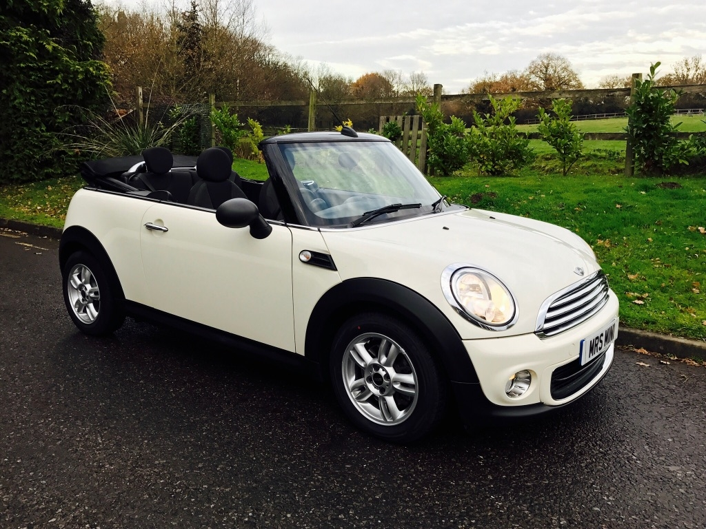 Mini Cooper Service Manual >> Deposit Taken on this 2012 MINI One Convertible Pepper White With Low Miles & Heated Seats - Mrs ...