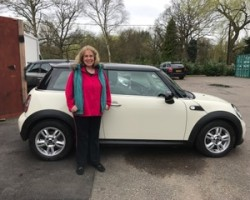 Gill has chosen 2010 MINI Cooper Chili Pack In Pepper White With Full MINI Service History & Long MOT