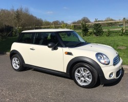 Molly has chosen this 2012 MINI One 1.6 Pepper Pack Pepper White