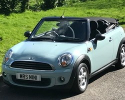2011 MINI One Convertible 1.6 Ice Blue With Full MINI Service History
