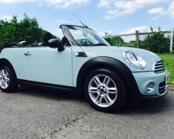 2011 MINI Cooper Convertible in Ice Blue with Chili Pack & Low Miles Just 19K!