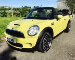 2009 MINI Cooper S in Interchange Yellow – with RIDICULOUSLY LOW MILES 27K