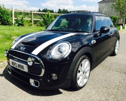 "Martin has chosen this 2014 MINI Cooper S – Stunning MINI 18K miles with Sunroof Leather & ""MINI EXCITEMENT PACKAGE"""