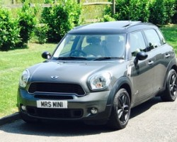 Matthew & his beautiful wife have chosen this 2011 61 MINI Cooper S All 4 Countryman in Royal Grey with Sunroof & Full Cream Leather