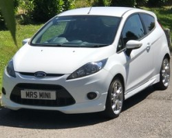 2011 61 Ford Fiesta Zetec S with Low Miles & Full Leather Heated Sports Seats