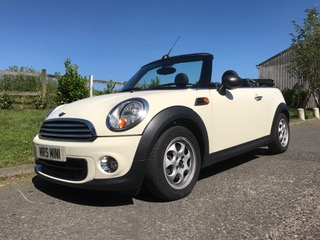 2011 MINI One (Salt Pack) Convertible in Pepper White with Ridiculously Low Miles 12K!