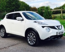 2014/64 Nissan Juke – Top of the Range with Leather Nav H/Seats B'tooth Reversing Camera & MORE MORE MORE!