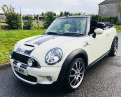 Tracey has chosen this 2009 MINI Cooper S Convertible with Chili Pack & Big Spec