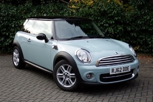 2012 MINI Cooper D Chili Pack Ice Blue with just 27K miles & prepared to MINI's Cherished Standards