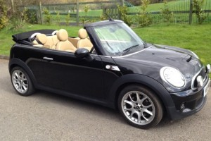 2009 / 59 MINI Cooper S Chili & Visibility Packs in Black with Full Tuscan Leather Heated Seats & More