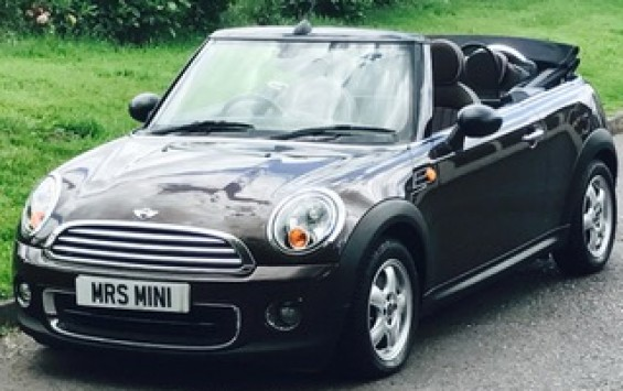 2010 MINI One Convertible 1.6 Iced Chocolate