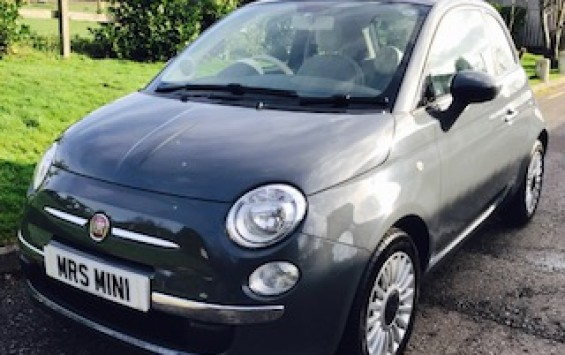 2012 Fiat 500 Lounge – Rare in Grey with Bluetooth & Just Serviced