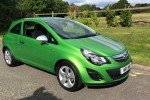 2013 Vauxall Corsa 1.0i Sting Ecoflex in a Colour Called Grasshopper Green – We LOVE this colour…. Low miles too 25000
