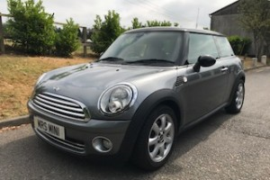 2010 Limited Edition MINI Cooper Graphite Automatic with Pepper & Visibility Packs