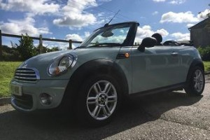 2013 MINI One Convertible 1.6 Ice Blue