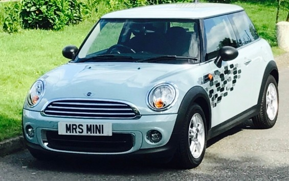 2012 MINI One Pepper Pack in Ice Blue with Low Miles & Full Service History