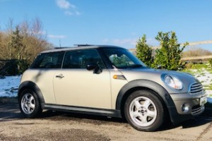 2008 MINI One in Sparkling Silver with HUGE Spec Including Full Leather Heated Seats, Sunroof & Full MINI Service History & ONE OWNER FROM NEW