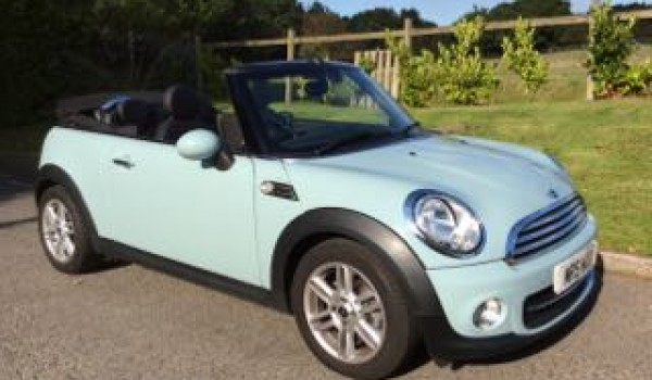 Mini Cooper Convertible Used >> Sarah has wanted an Ice Blue MINI for ages so this is going to be hers - 2013 MINI Cooper ...