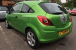Gone to live with Adrian in Gloucester, 2013 Vauxall Corsa 1.0i Sting Ecoflex in a Colour Called Grasshopper Green – We LOVE this colour…. Low miles too 25000