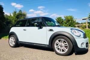2011 MINI Cooper In Ice Blue with Chili Pack & Full Service History
