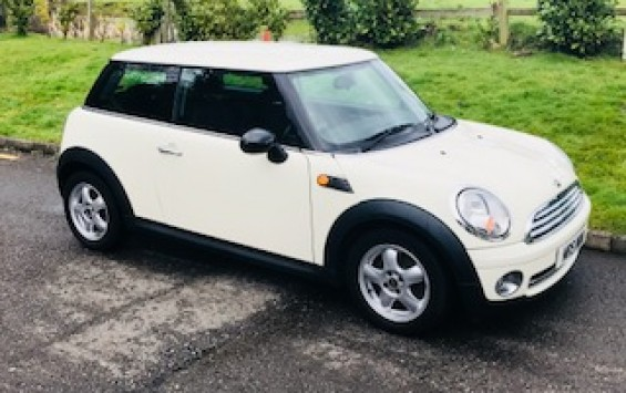 2008 MINI One 1.4 In Pepper White – Ideal First MINI