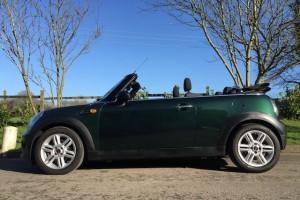 """2012 MINI Cooper Convertible in British Racing Green & 14K miles Called """"HOT PANTS"""""""