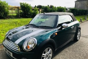 Deposit Taken 2010 MINI One Convertible with Half Leather, Low Miles & In British Racing Green