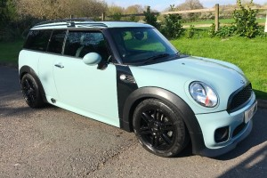 2012 MINI Cooper Clubman Automatic 1.6 Ice Blue With A John Cooper Works Bodykit