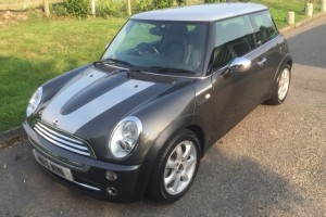 2006/55 MINI Cooper Park Lane Automatic Height of Luxury In Royal Grey with Fabulous Spec