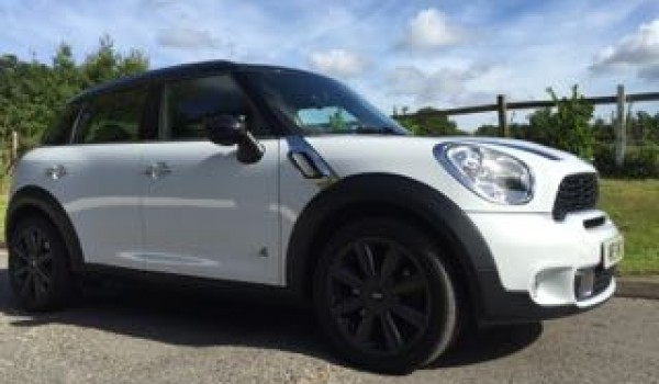 2013 Mini Countryman Cooper S Light White With Ridiculously Low