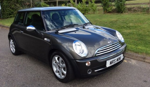 Kyle has chosen this 2006 Limited Edition MINI Cooper Park Lane in Royal Grey