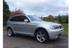 2004 BMW X3 3.0i AUTOMATIC Sport In Silver with Heated Leather Seats & Panoramic Roof & Sat Nav + more