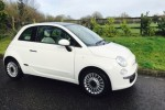 Leanne is viewing this on Saturday 18th Feb – Dad is treating her !!  2010 Fiat 500 Lounge White