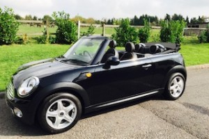 2009 MINI Cooper Convertible with Full Lounge Leather Heated Seats & Full Service History