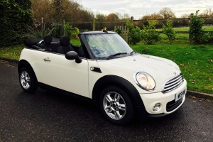 2012 MINI One Convertible Pepper White With Low Miles & Heated Seats