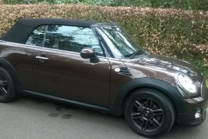 2011 Hot Chocolate MINI Cooper Convertible with shed loads of extras