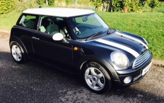 2006 MINI Cooper with Chili Pack with Half White Leather & Just Serviced