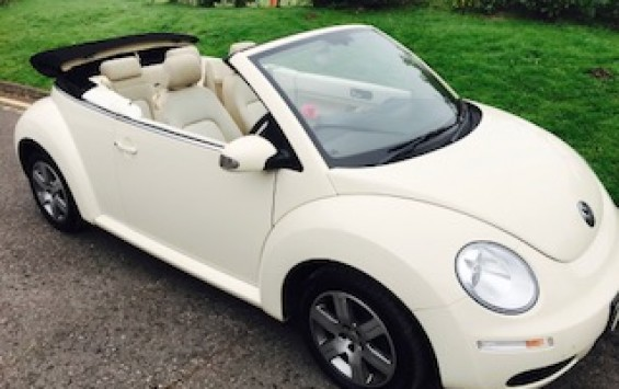 2009 / 59 VW Beetle Luna Convertible – Iconic like the MINIs !