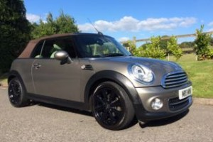 2011 MINI Cooper Convertible With Chili Pack Velvet Silver