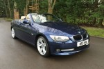 2010 BMW 3 Series  2.0 320i SE 2door Convertible in Deep Sea Blue with Oyster Leather Sports Seats