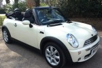 2008 MINI Cooper Convertible in Pepper White with Chili Pack & Low Miles